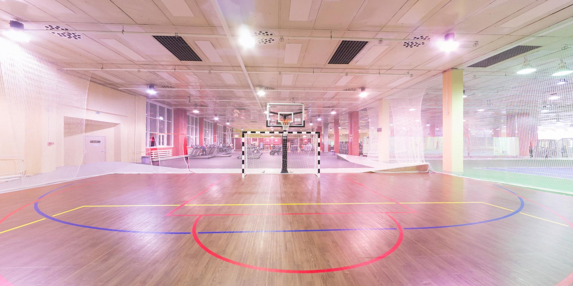Съемка 360° виртуального тура из 14ти 3D панорам по фитнес-клубу ExtremeFitness Новосибирск