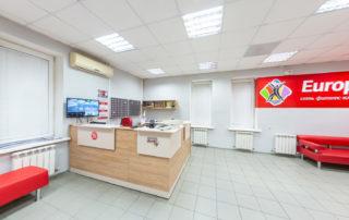 Съемка 360° виртуального тура из пяти 3D панорам по фитнец центру Европа на Родниках (Новосибирск)