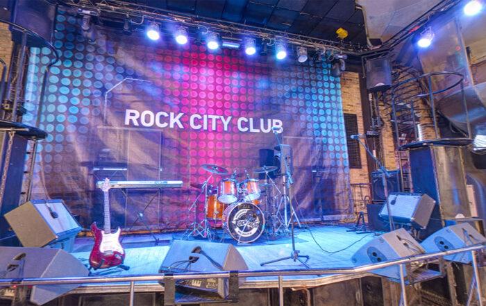 Ночной клуб Рок Сити - Съемка 3д панорам в Новосибирске