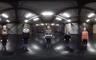 Hip-hop studio Funky Juice — 360 VR видео Новосибирск