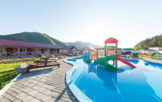 360° виртуальный тур из 13ти 3D панорам по базе отдыха Горная Сказка, Алтай